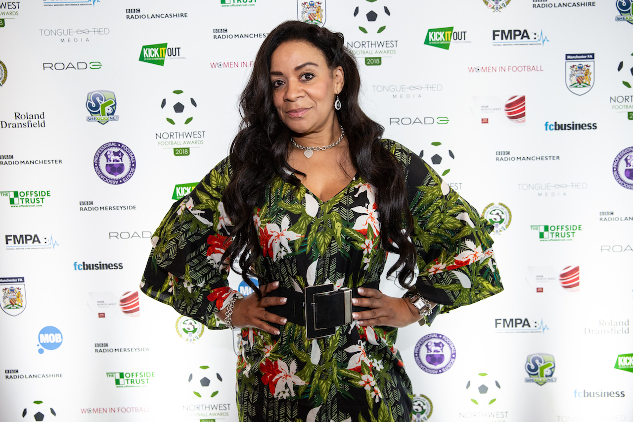 Rowetta at the NWFA launch party